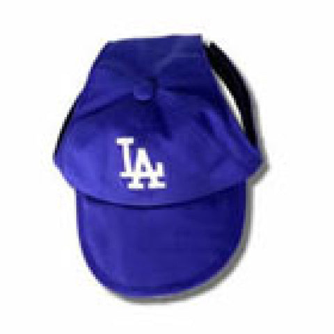 Los Angeles Dodgers Dog Hat Embroidered-DOG-Sporty K9-SMALL-Pets Go Here ball cap, hat, l, m, m/l, mlb, s, s/m, sports, sports hat, sporty k9, xl, xs Pets Go Here, petsgohere