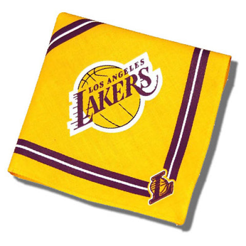 Los Angeles Lakers Dog Bandana-DOG-Sporty K9-MEDIUM/LARGE-Pets Go Here bandana, dc, m, m/l, nba, reflective, s, sports, sports bandana, sporty k9, xs Pets Go Here, petsgohere