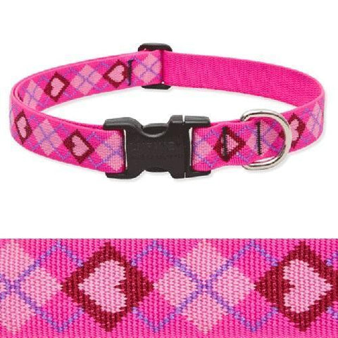 Lupine Dog Collar Puppy Love-DOG-Lupine-8-12 In-Pets Go Here 10-16 in, 12-20 in, 16-28 in, 8-12 in, brite, collar, dog, dog collar, fashionable, hot pink, lavender, light pink, lupine, nylon, pet collar, pink, raspberry, red, trendy Pets Go Here, petsgohere