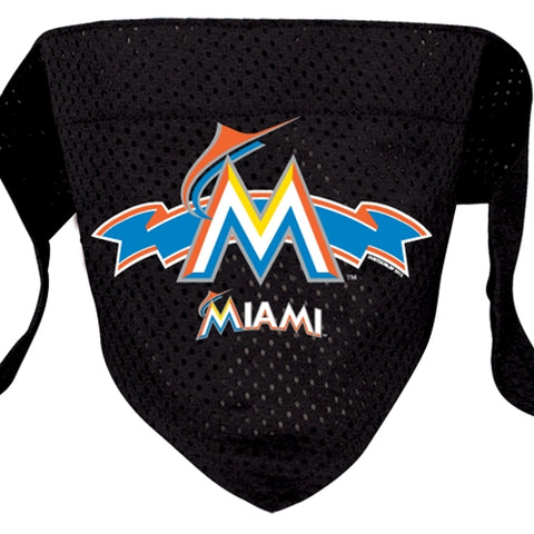 Miami Marlins Dog Bandana-DOG-Hunter-SMALL-Pets Go Here