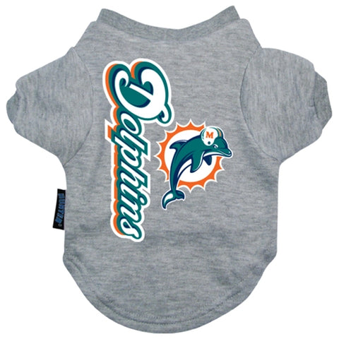 Miami Dolphins Shirt SM-DOG-Hunter-SMALL-Pets Go Here gray, hunter, l, m, m/l, nba, nfl, s, s/m, sports, sports shirt, xl, xs Pets Go Here, petsgohere