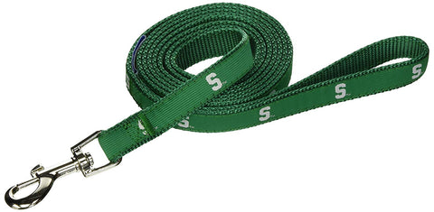 NCAA Michigan State Dog Leash 4 ft, 6 ft, ncaa, nylon, pets first Pets Go Here, petsgohere
