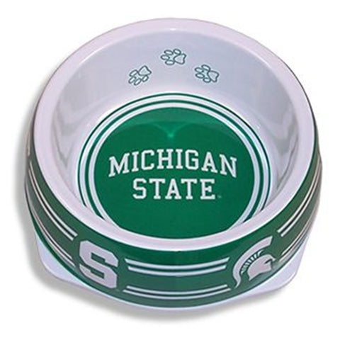 Michigan State Dog Bowl-DOG-Sporty K9-LARGE-Pets Go Here dc, l, m, ncaa, s, sports, sports bowl, sporty k9 Pets Go Here, petsgohere