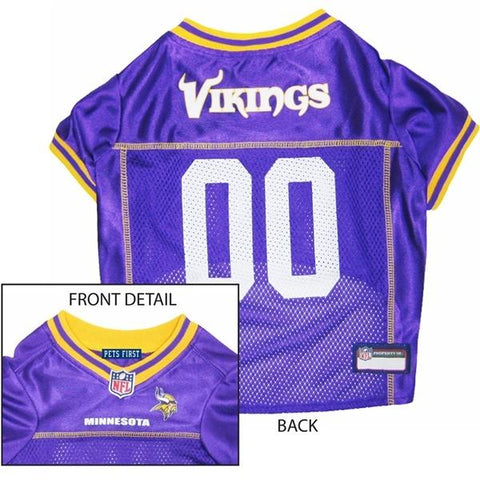 Minnesota Vikings Dog Jersey-DOG-Pets First-MEDIUM-Pets Go Here l, m, nfl, pet goods, s, test, xl, xs Pets Go Here, petsgohere