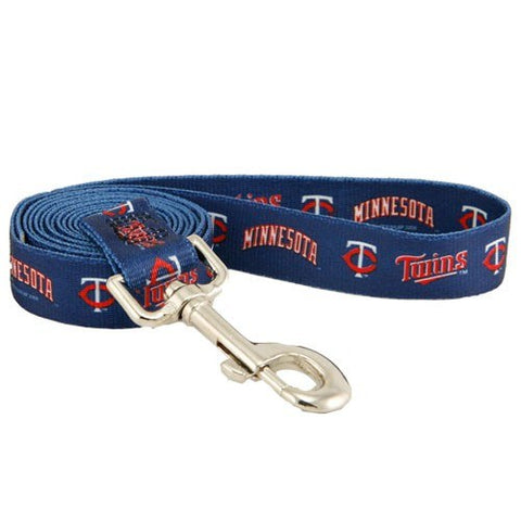 Minnesota Twins Dog Leash-DOG-Hunter-Pets Go Here 4 ft, hunter, mlb Pets Go Here, petsgohere
