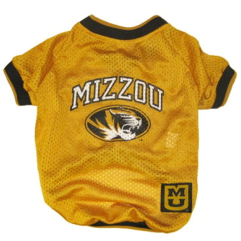 Missouri Tigers NCAA Dog Jersey w BLACK Trim-DOG-Pets First-Pets Go Here black, jersey, ncaa, ncaa jersey, patch, pets first, sports, sports jersey Pets Go Here, petsgohere