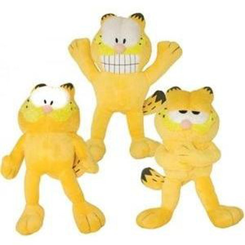Multipet Garfield Plush Dog Toy-DOG-Multipet-Pets Go Here cat, cat toy, dog toy, multipet, pet toy, plush, plush toy, toy Pets Go Here, petsgohere
