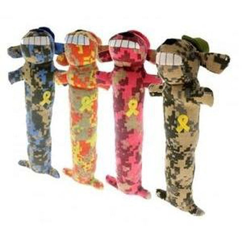 "Multipet ""Support Our Troops"" Loofa Dog-DOG-Multipet-SMALL-Pets Go Here l, m, s, xl, xs Pets Go Here, petsgohere"