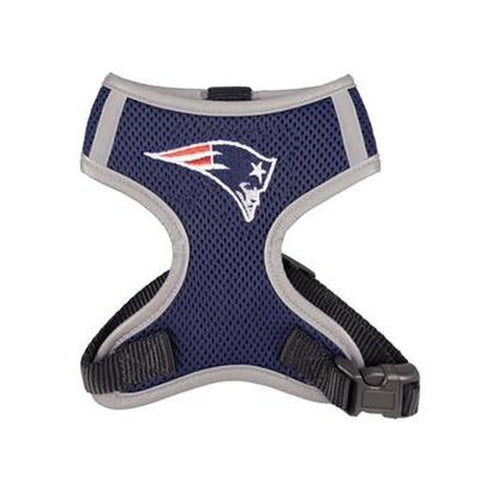 New England Patriots Dog Harness Vest-DOG-Hip Doggie-X-LARGE-Pets Go Here hip doggie, hunter, l, m, nfl, nfl harness, reflective, s, sports, sports harness, vest, xl, xs Pets Go Here, petsgohere