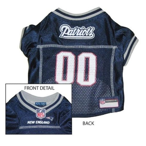 New England Patriots Dog Jersey-DOG-Hunter-X-SMALL-Pets Go Here