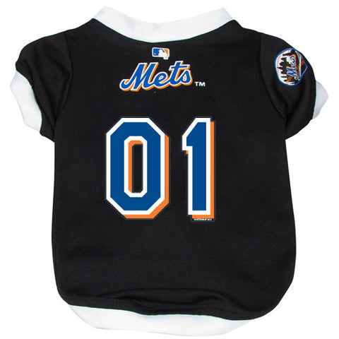 New York Mets Dog Jersey-DOG-Hunter-MEDIUM-Pets Go Here