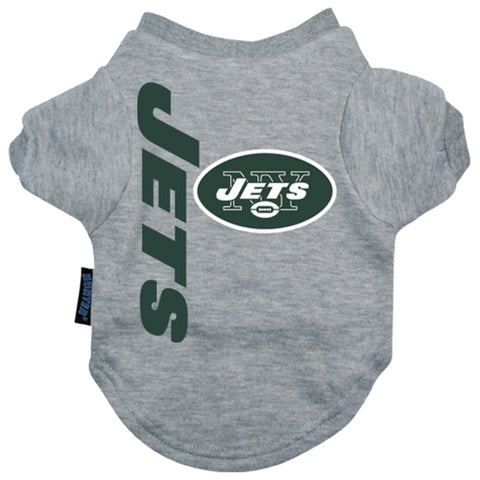 New York Jets Shirt-DOG-Hunter-X-LARGE-Pets Go Here gray, hunter, l, m, nfl, s, sports, sports shirt, xl, xs Pets Go Here, petsgohere