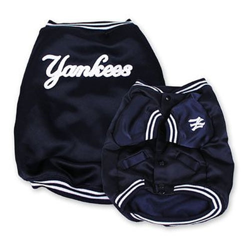 b7a1c49e7 New York Yankees Dugout Jacket for Dogs-DOG-Pets First-LARGE-Pets
