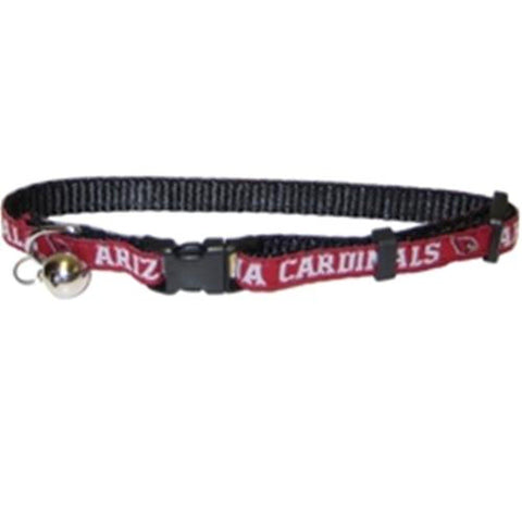 Arizona Cardinals Breakaway Cat Collar-CAT-Pets First-Pets Go Here nfl, nfl cat collar, nylon Pets Go Here, petsgohere