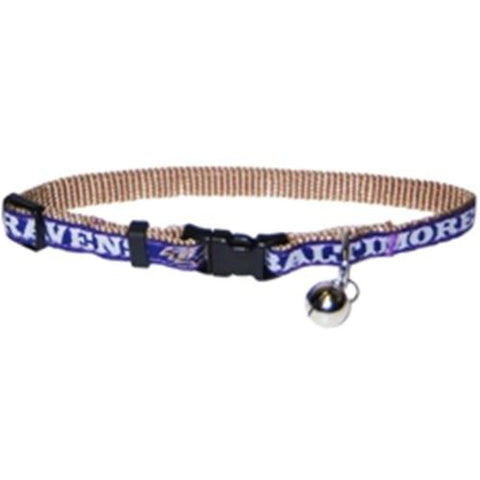 Baltimore Ravens Breakaway Cat Collar