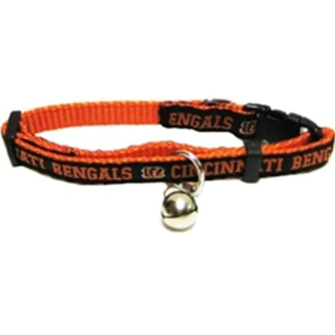 Cincinnati Bengals Cat Collar-CAT-Pets First-Pets Go Here nfl, nfl cat collar, nylon Pets Go Here, petsgohere