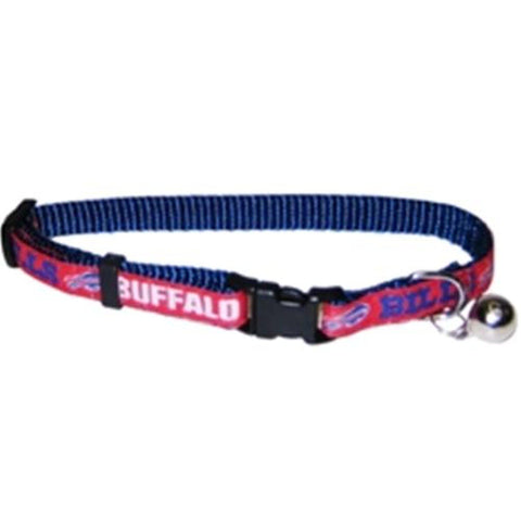 Buffalo Bills Breakaway Cat Collar-CAT-Pets First-Pets Go Here nfl, nfl cat collar, nylon Pets Go Here, petsgohere