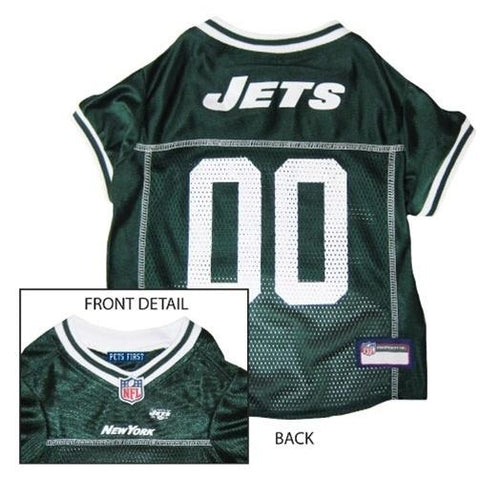 New York Jets Dog Jersey 2-DOG-Pets First-MEDIUM-Pets Go Here