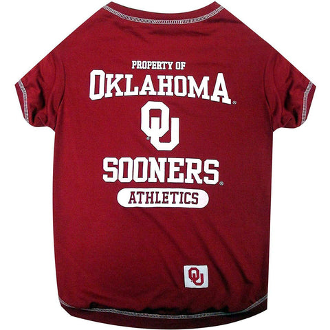 Oklahoma Sooners Dog Shirt-DOG-Pets First-LARGE-Pets Go Here