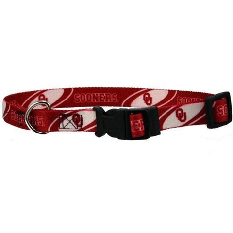 Oklahoma Sooners Dog Collar Ribbon-DOG-Hunter-Pets Go Here
