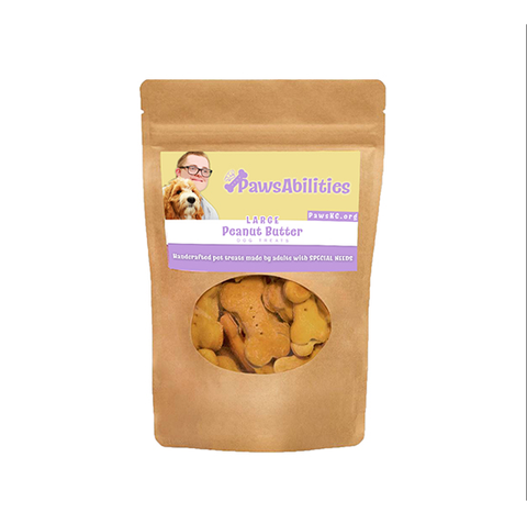 Pawsabilities Dog Treats Peanut Butter 6 Oz