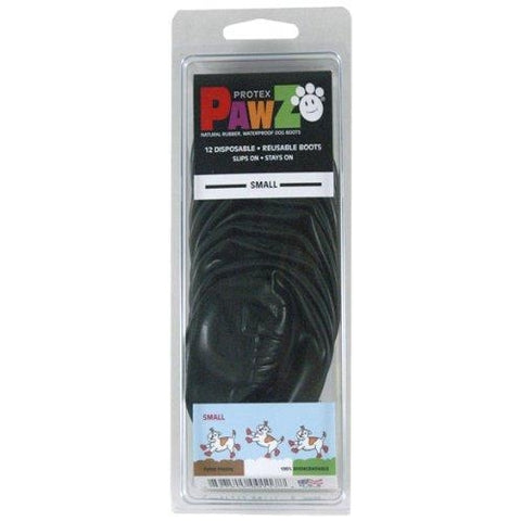 Pawz BLACK Disposable Dog Boots-DOG-Pawz-LARGE-Pets Go Here black, boots, dog boots, l, m, paw, pawz, s, tiny, xl, xs, xxs Pets Go Here, petsgohere