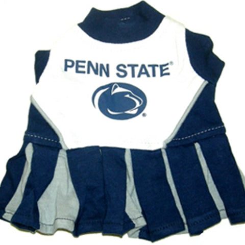 Penn State Dog Cheerleading Uniform Dress-DOG-Pets First-Pets Go Here