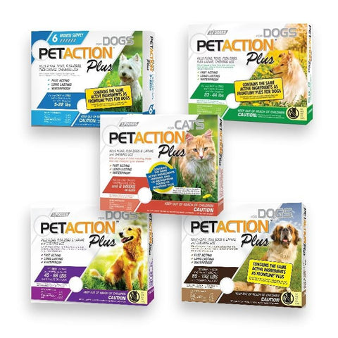 PetAction Plus Flea and Tick Treatment Cat 3 Month