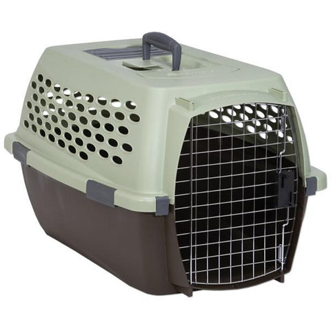 Petmate Fashion Vari Kennel, 10-20lbs, Dark Pink/Black-DOG-Petmate-Pets Go Here