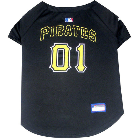 Pittsburgh Pirates Dog Jersey-DOG-Pets First-X-SMALL-Pets Go Here