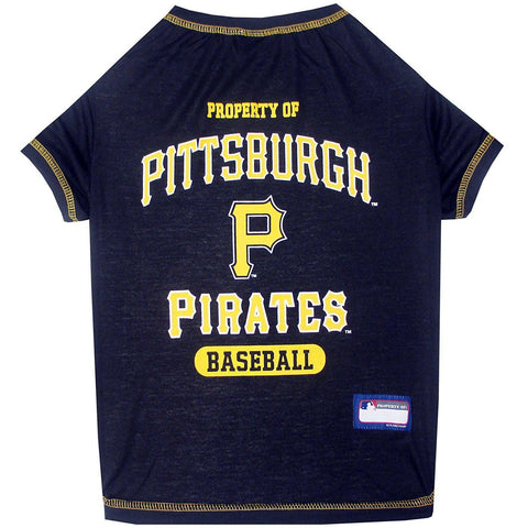 Pittsburgh Pirates Dog Shirt-DOG-Pets First-X-SMALL-Pets Go Here