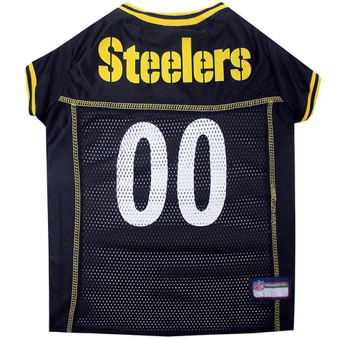 Pittsburgh Steelers Dog Jersey 2-DOG-Pets First-X-SMALL-Pets Go Here jersey, l, m, nfl, pets first, s, sports, sports jersey, xl, xs Pets Go Here, petsgohere