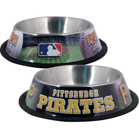 Pittsburgh Pirates Dog Bowl-DOG-Hunter-Pets Go Here