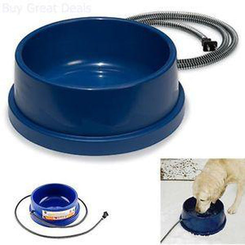 K & H Thermal Dog Bowl-DOG-K & H-96 Oz-Pets Go Here blue, bowl, dog bowl, thermal Pets Go Here, petsgohere