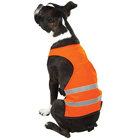 Guardian Gear Reflective Dog Safety Vest ORANGE guardian gear, l, m, nylon, orange, s, safety, test, vest, xl, xs, xxl Pets Go Here, petsgohere