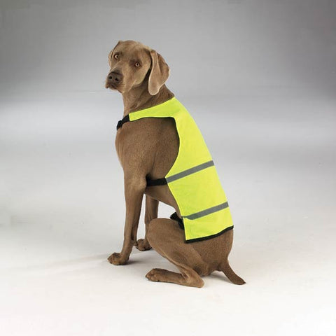 Guardian Gear Safety Vest SM YELLOW-DOG-Guardian Gear-SMALL-Pets Go Here dog clothes, guardian gear, l, m, m/l, nylon, reflective, s, s/m, safety, vest, xl, xs, yellow Pets Go Here, petsgohere