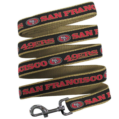 San Francisco 49ers Dog Leash-DOG-Pets First-Pets Go Here