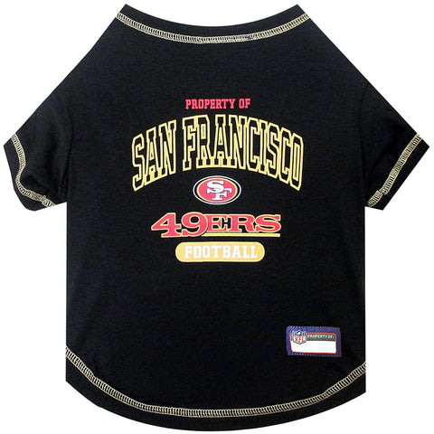 San Francisco 49ers Dog Shirt-DOG-Pets First-X-SMALL-Pets Go Here l, m, pets first, s, sports, sports shirt, xl, xs Pets Go Here, petsgohere