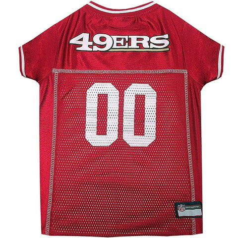 San Francisco 49ers Dog Jersey 2-DOG-Pets First-X-LARGE-Pets Go Here