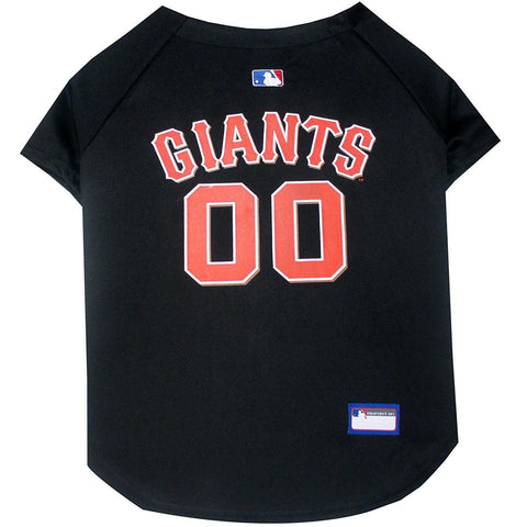 San Francisco Giants Dog Jersey-DOG-Pets First-X-SMALL-Pets Go Here jersey, l, m, mlb, mlb jersey, pets first, s, sports, sports jersey, xl, xs Pets Go Here, petsgohere