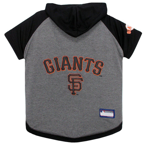 San Francisco Giants Dog Hoodie Shirt-DOG-Pets First-LARGE-Pets Go Here l, m, mlb, pet goods, s, sports, sports shirt, xl, xs Pets Go Here, petsgohere