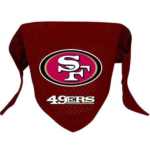 San Francisco 49ers Dog Bandana-DOG-Hunter-Pets Go Here