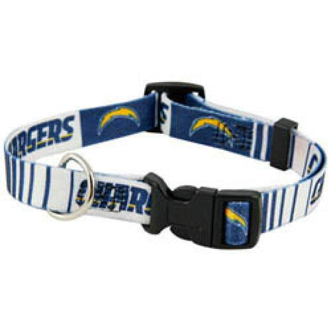 San Diego Chargers Dog Collar-DOG-Hunter-SMALL-Pets Go Here hunter, l, m, nfl, nylon, s, xl, xs Pets Go Here, petsgohere