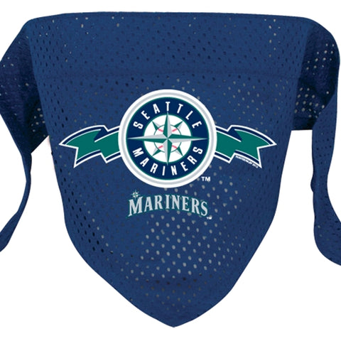 Seattle Mariners Dog Bandana-DOG-Sporty K9-MEDIUM/LARGE-Pets Go Here bandana, dc, m/l, s, sports, sports bandana, sporty k9, xs Pets Go Here, petsgohere