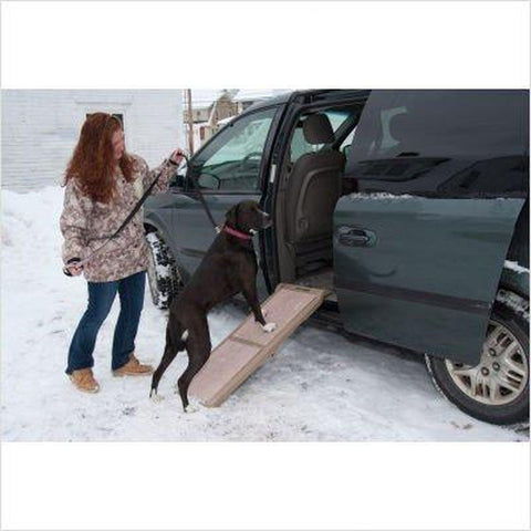 Pet Gear Bi-Fold Short Pet Ramp (200 LB)-DOG-Pet Gear-Pets Go Here