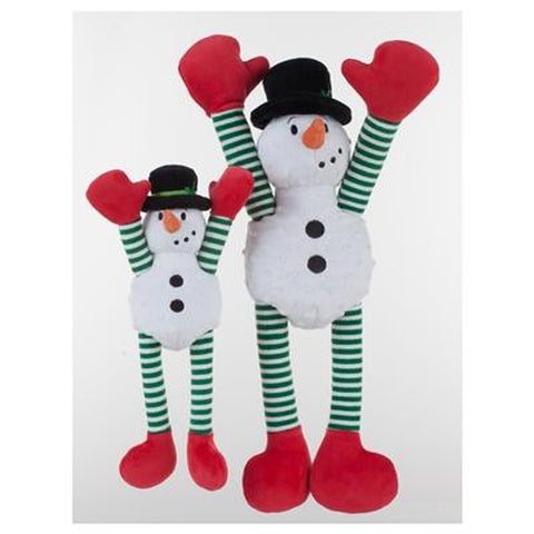 GoDog Crazy Tugz Snowman with Chew Guard-DOG-Quaker Pet Group-SMALL-Pets Go Here