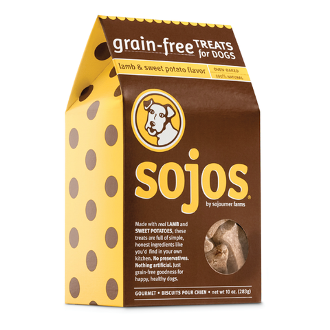 Sojos Grain-Free Lamb & Sweet Potato Dog Treats-DOG-Sojos-Pets Go Here