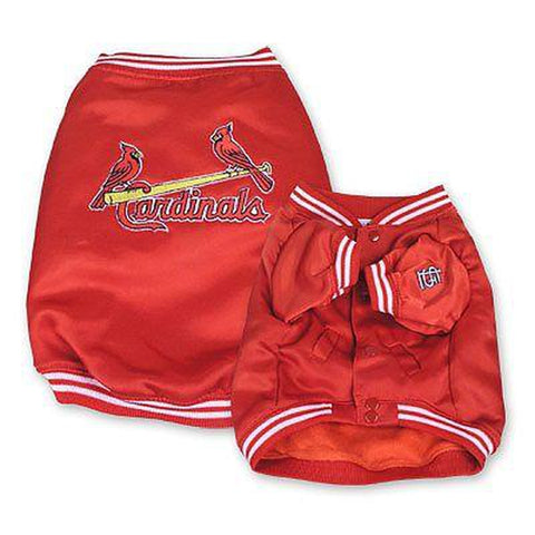 St. Louis Cardinals Dog Dugout Jacket-DOG-Sporty K9-Pets Go Here