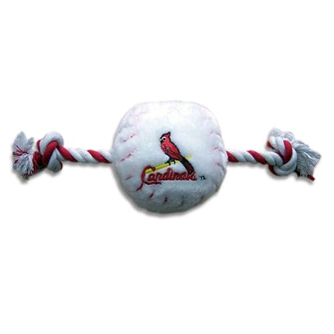 St. Louis Cardinals Plush Dog Toy-DOG-Pets First-Pets Go Here