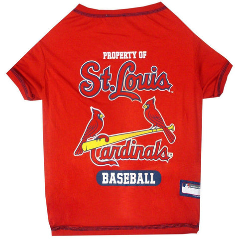 St. Louis Cardinals Dog Shirt RED-DOG-Pets First-X-SMALL-Pets Go Here